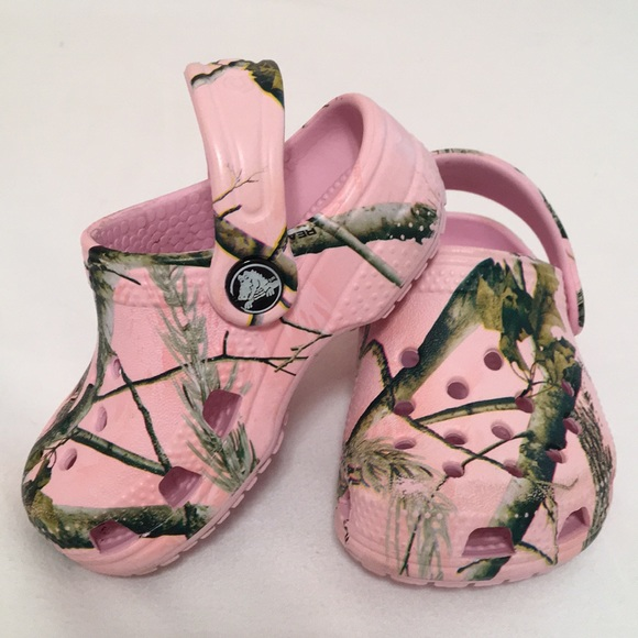 CROCS Shoes | Baby Crocs In Pink Camo
